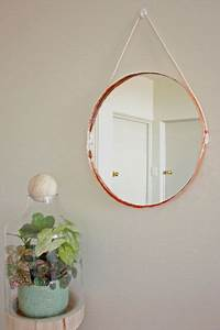 Miroir Cuivre Rose : espelho cobre redondo rose gold d co maison deco cuivre e miroir cuivre ~ Melissatoandfro.com Idées de Décoration