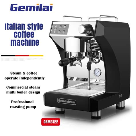 Italians love espresso, which means italian brands know a thing or two about building a great espresso machine. Gemilai 3122 Commercial Semiautomatic Italian Coffee Machine Home Type Espresso Coffee Maker Hot ...