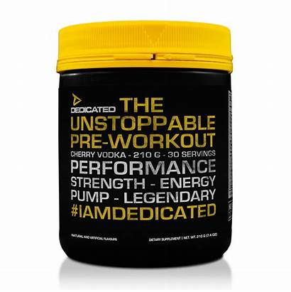 Unstoppable Pre Workout Dedicated