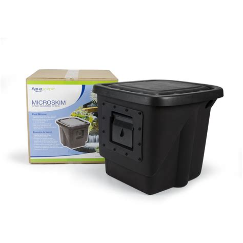 aquascape skimmer aquascape signature series 200 pond skimmer aquascapes