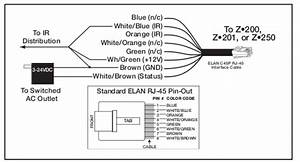 audio substitute 22awg 8 strand solid copper for cat5 With standard rj45 wiring diagram