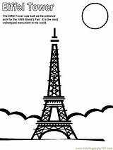 Coloring Eiffel Tower France Printable Paris Colouring Around Countries Themed Coloringpages101 Ws Coloringpagebook Notre Dame Frances Adult Advertisement Argentina Olympics sketch template