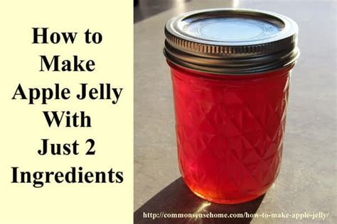 apple jelly    ingredients