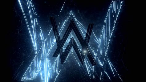 alan walker logo wallpapers hd desktop  mobile