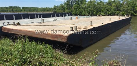 Boat Lift Barges For Sale by 20 120 X30 X7 Inland Deck Barges For Sale Damco