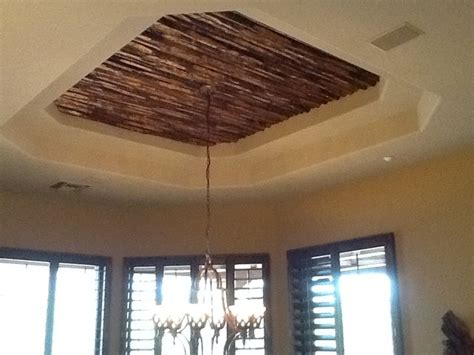 cedar  reclaimed cedar beams  exposed plank ceiling