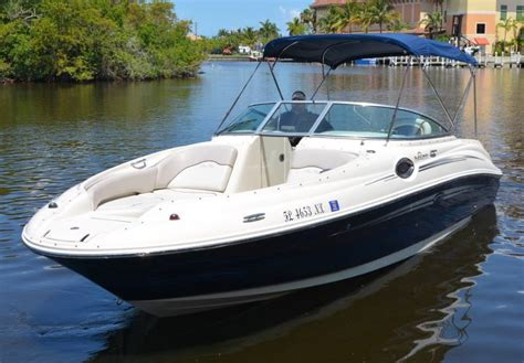 sea ray 240 sundeck boat for sale from usa