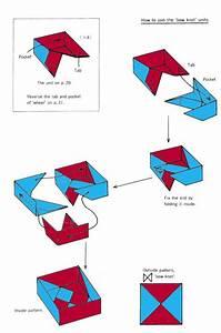 Square Box Of Origami