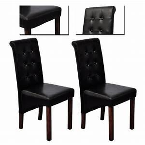 Stühle Esszimmer Schwarz : esszimmer st hle klassik 2 stk schwarz g nstig kaufen ~ Michelbontemps.com Haus und Dekorationen