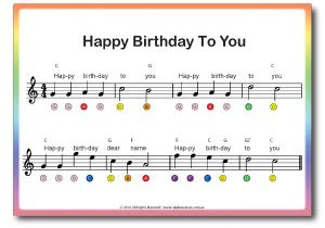 Happy birthday to you, easy (slow) piano tutorial. Beginner Piano for Kids Booklet (includes Piano Stickers) - Beginner Piano For Kids