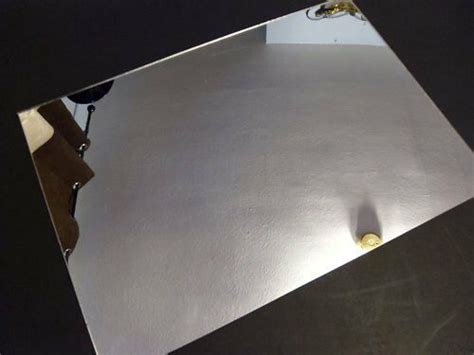 3mm silver acrylic mirror 4ft x 2ft large perspex mirror