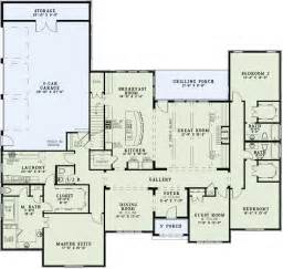 bedroom house floor plan inspiration traditional style house plans 3415 square foot home 1