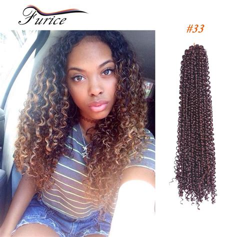 hair style for black hair freetress syntheitc curly water wave crochet marley braids 7050