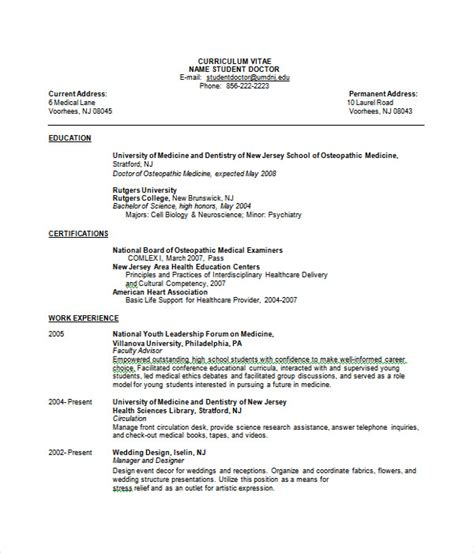 Jquery Resume Template by Resume Templates 27 Word Pdf Documents