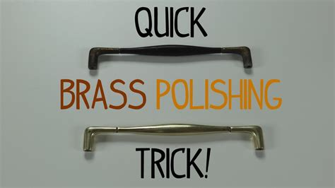 how to clean antique brass ls quick brass polishing trick youtube