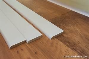 comment poser des plinthes travailler le bois With parquet plastifié