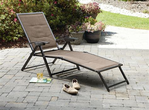 plastic tri fold lounge chair garden oasis harrison matching folding padded sling chaise