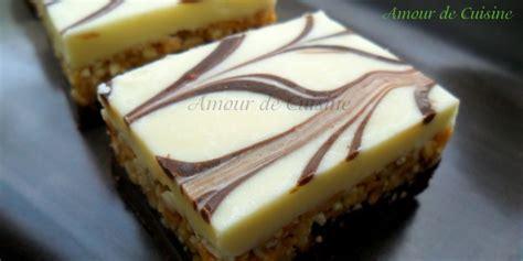 idee dessert sans four nougat au chocolat blanc gateau sans cuisson amour de cuisine