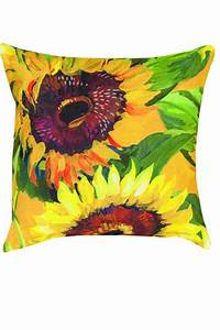 Manual Weavers Sunflower Pillow From Lake City By Main