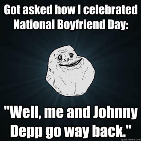 asked   celebrated national boyfriend day