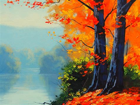 hd art painting wallpapers