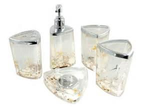 themed kitchen canisters decorative seashell starfish style acrylic bathroom accessory set ebay