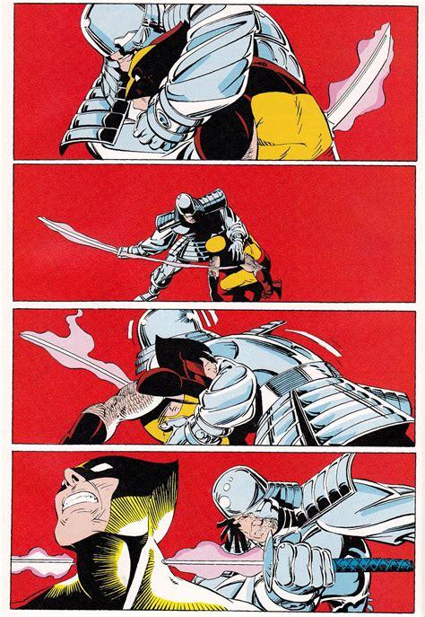 Wolverine vs Silver Samurai From Uncanny X-Men #173 (1983 ...
