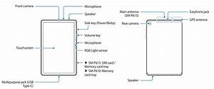 Tab S6 Lite  Device Layout  U0026 Functions