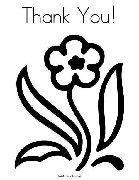 Coloring For You by Thank You Coloring Pages For Coloring Home