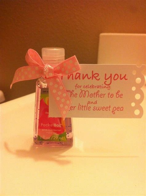 Shower Favors Sweet Pea Hand Sanitizer From Bath & Body