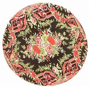 Teppich Rund 200 : rund teppich 200 cm rose rund ~ Orissabook.com Haus und Dekorationen