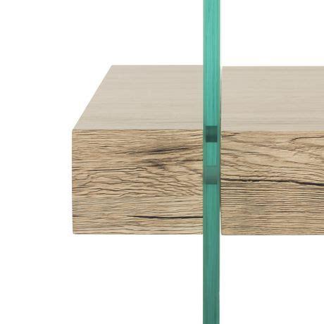 Hadwin modern concrete oval dia coffee table dark gray safavieh target. Safavieh Kayley Retro 2 Tier Glass Coffee Table, Natural | Walmart Canada
