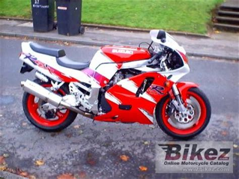 1993 suzuki gsx r 750 specifications and pictures