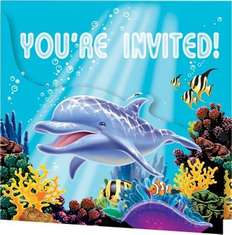 einladungskarten ozean party