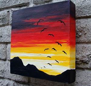 20 Oil And Acrylic Painting Ideas For Enthusiastic ...