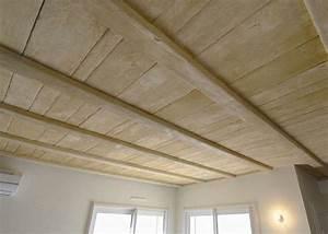 realisations libvision plafond porteur decoratif en With peindre un plafond en bois