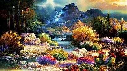 Spring Wallpapers Valley Desktop Springtime Pc Mac
