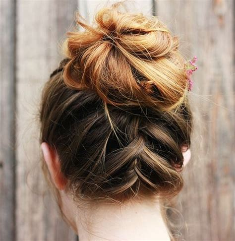 easy  pretty updo hairstyles  mid length hair
