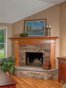 Corner, Fireplace, Design