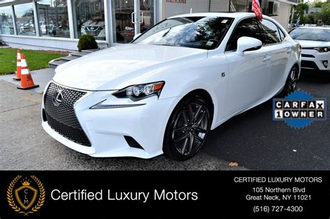 2015 red lexus is 250 2015 lexus is 250 f sport red interior stock 2286 for