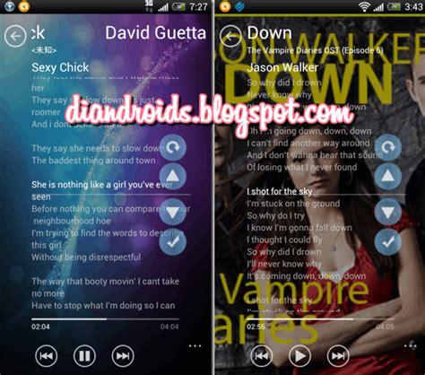 not lagu semua baik cara menilkan lirik lagu di media player android android media