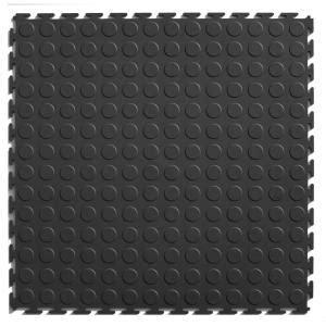 home depot rubber flooring tiles it tile coin 20 1 2 in x 20 1 2 in gray vinyl