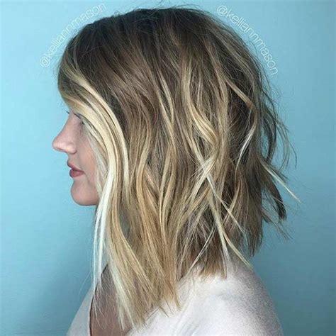 pretty lob haircut ideas   copy   stayglam