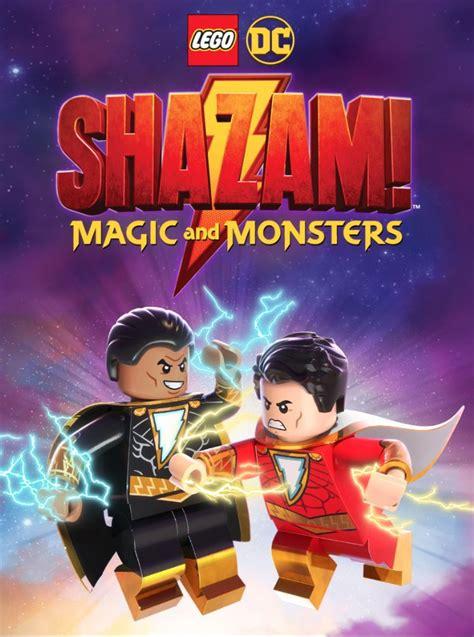 lego dc shazam magic  monsters dvd  figure