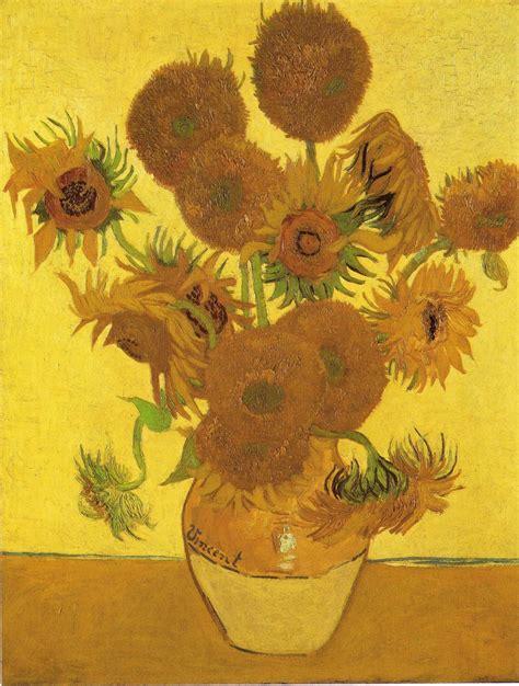 Sauvage27 Vaso Con I Girasoli Sunflowers Vincent Van Gogh