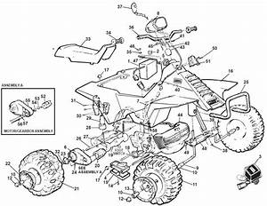 Power Wheels Suzuki Quad Sport Parts