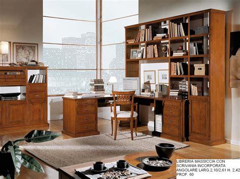 libreria con scrivania integrata scrivania con libreria incorporata ikea classica integrata