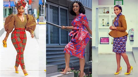 African Fashion Styles 50 Beautiful African Dresses To