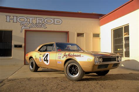 Very First 1967 Chevrolet Camaro Z-28 Is Back On The Track