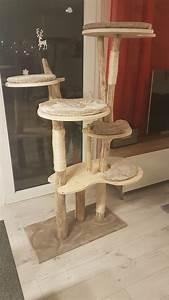Arbre A Chat En Palette : arbre chat maison en bois flott diy homemade wooden cat tree d co palette bois flott ~ Melissatoandfro.com Idées de Décoration